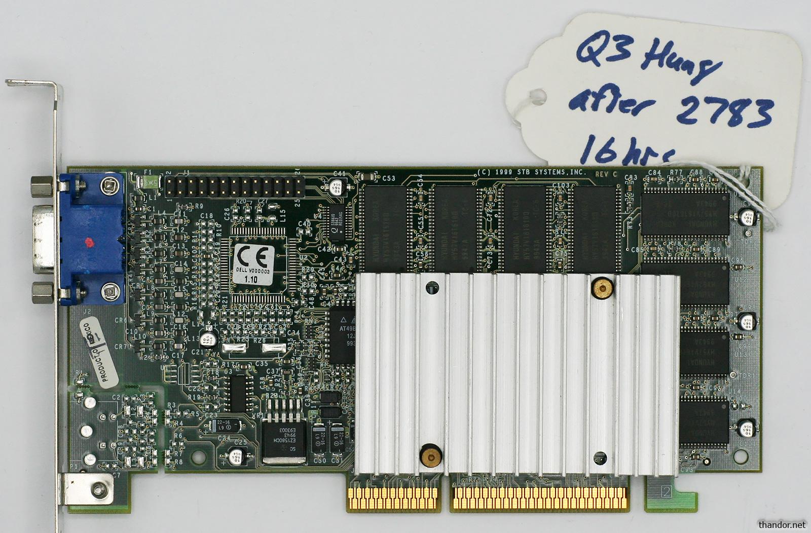 16MB 3DFX VOODOO3 3000D AGP WINDOWS 10 DRIVER DOWNLOAD